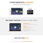 IQOption - webová stránka brokera